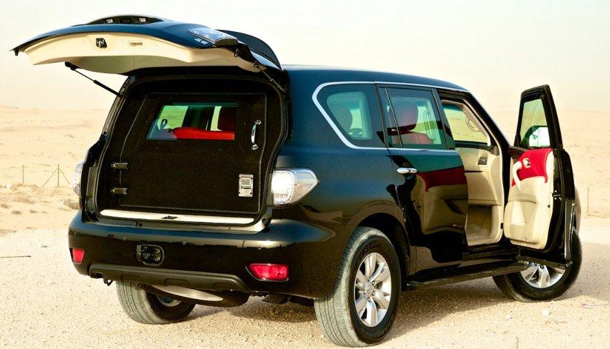 Armored Nissan Patrol | Bulletproof Nissan Patrol | Best