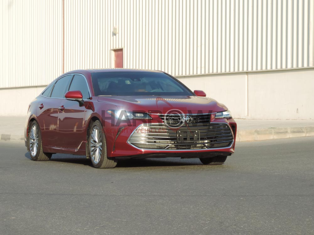 Armored Toyota Avalon