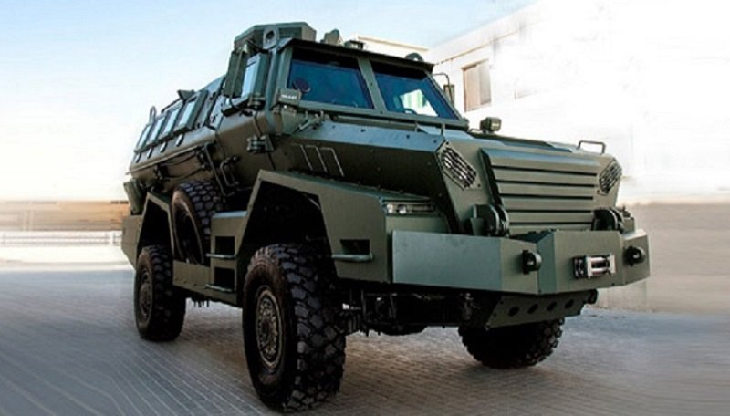 ARMORED TROOPCARRIER