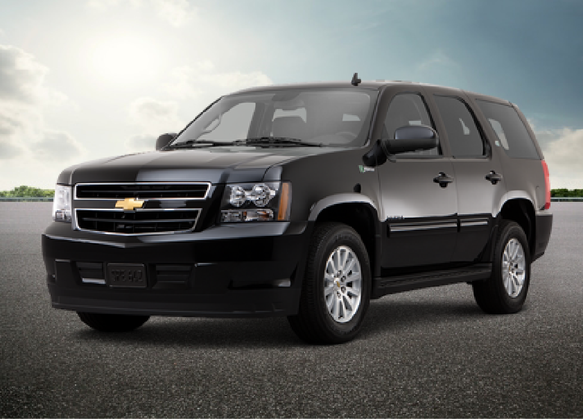 Armored Tahoe
