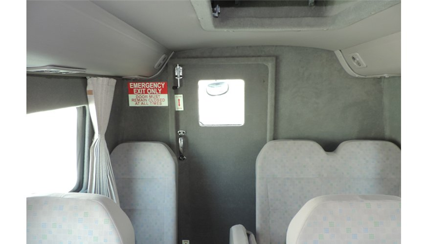 Armored Toyota Coaster