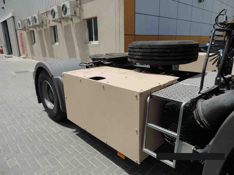 Armored Mercedes Actros