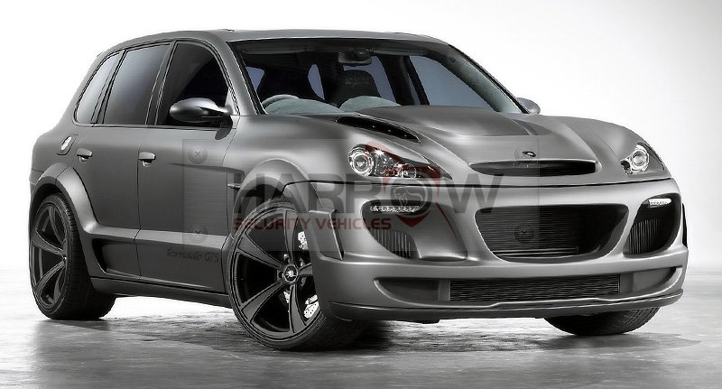 Armored Luxury Posrche Gemballa