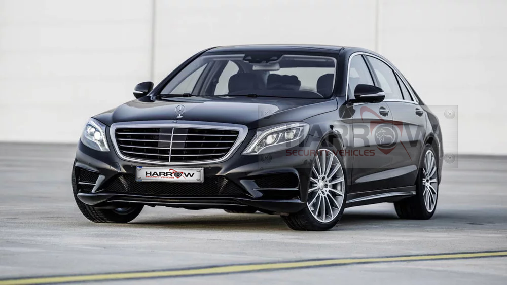 Armored Mercedes BENZ S500