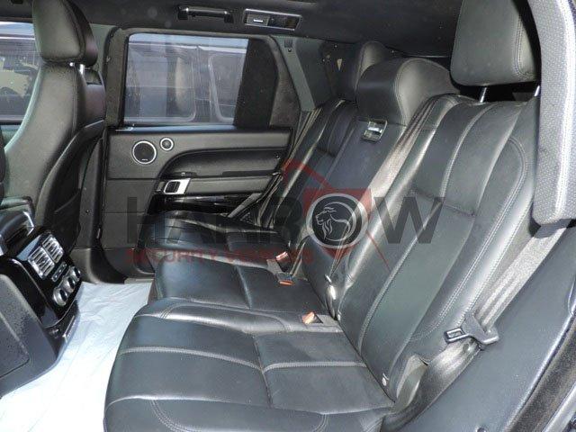 Armored Range Rover- Luxury SUV