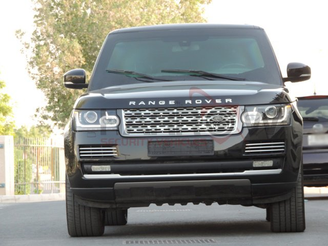 Armored Range Rover- Luxury SUV