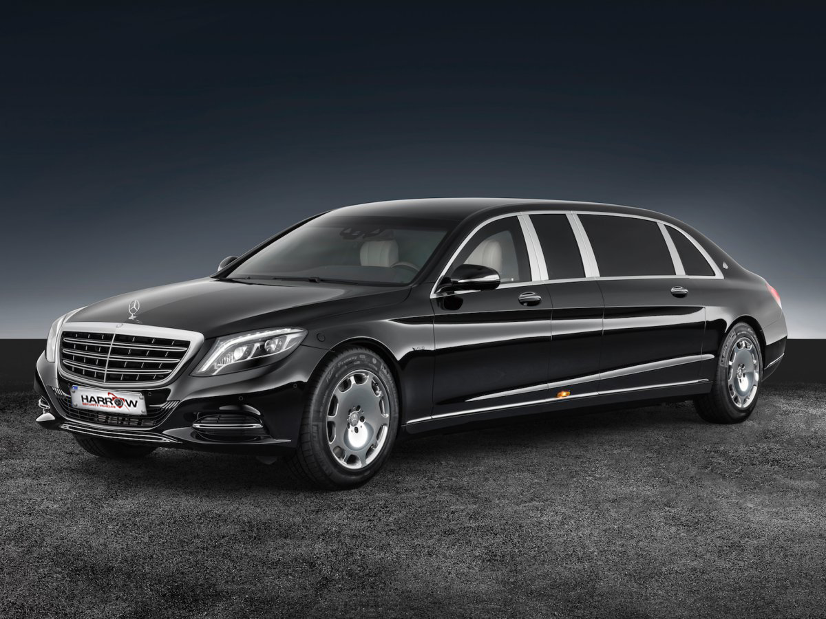 Armored Mercedes Maybach S600