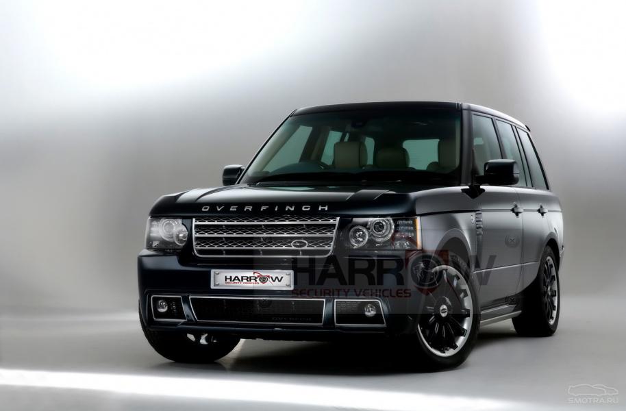 Armored Luxury Range Rover