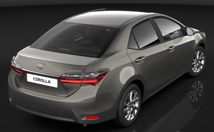 Armored Toyota Corolla