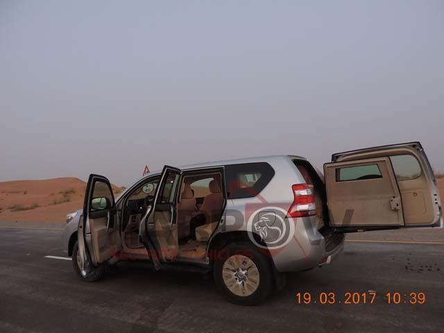 Armored Toyota Prado