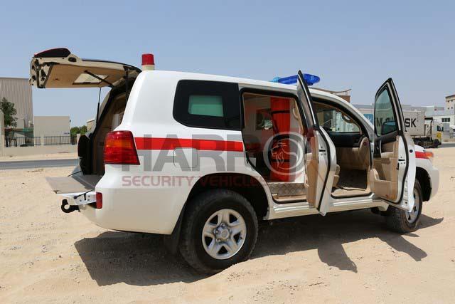 Land Cruiser 200 Series Armored Ambulance