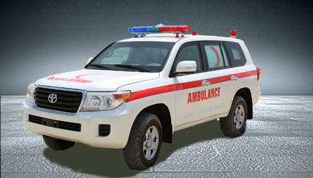 Land Cruiser 200 Series Armored Ambulance
