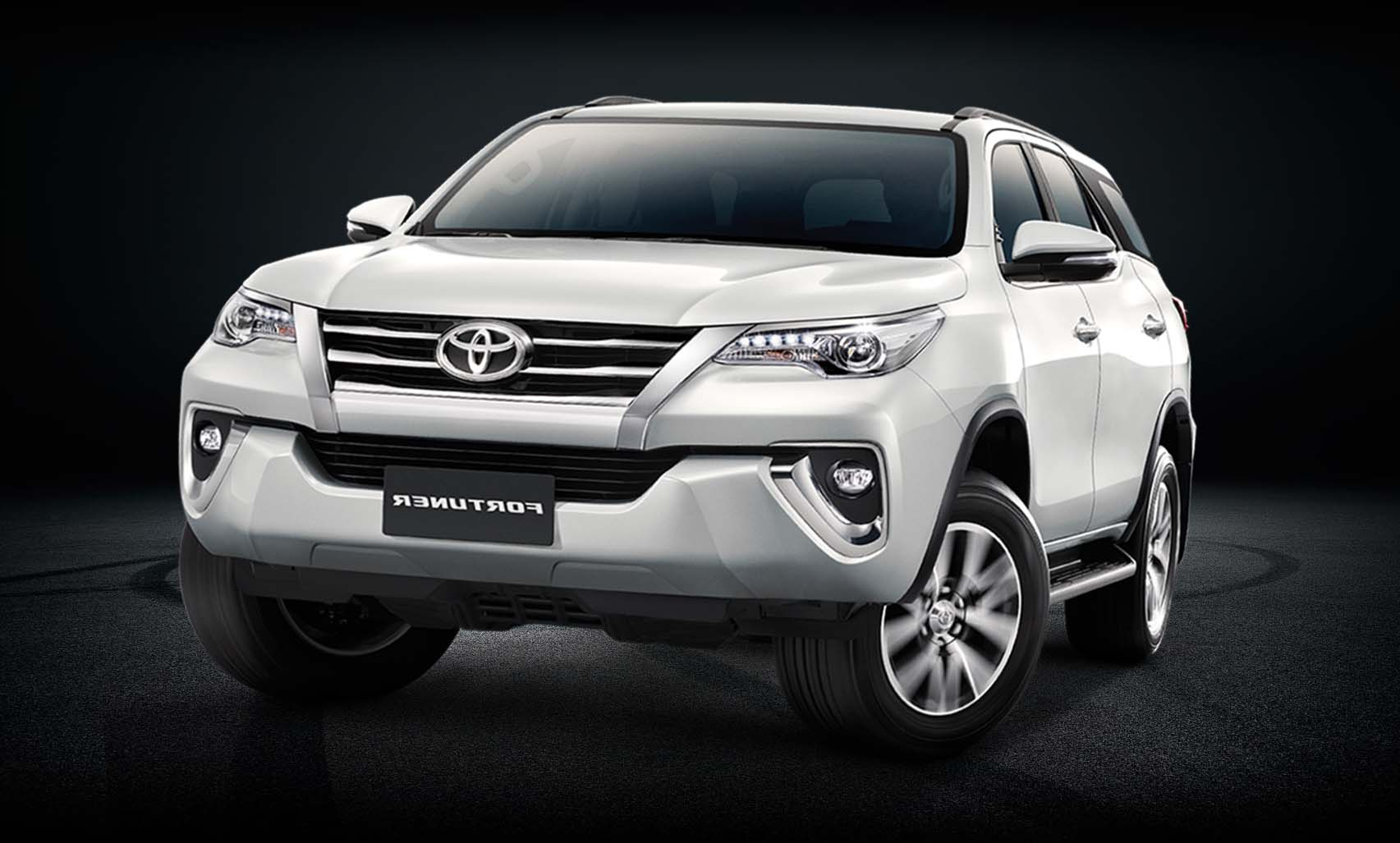 Armored Toyota Fortuner