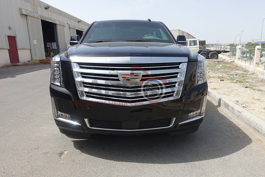 Armored Cadillac Escalade